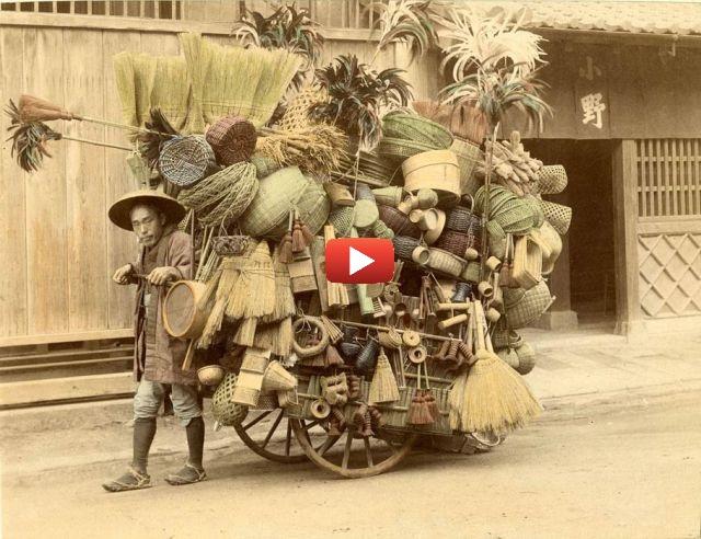 Commerçant Ambulant Japonais