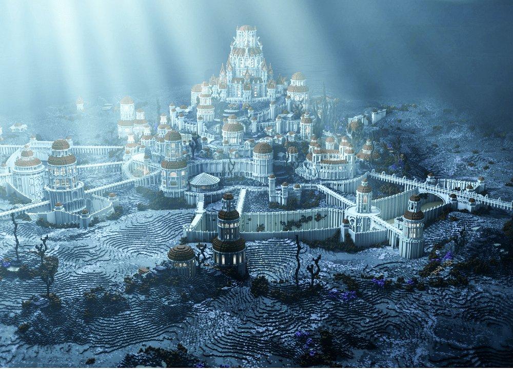 Atlantide sous les eaux