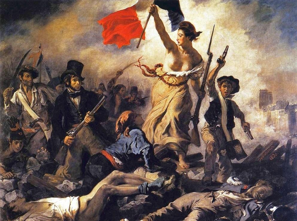 La Liberté guidant le peuple, d'Eugène Delacroix